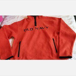 Old Navy Quarter Zip Fleece Pullover